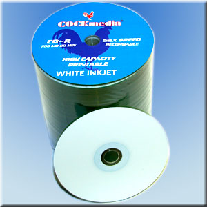 COCKmedia CD-R <b>white-printable</b> 700 MB 52x - <b>100er Folienspindel</b>